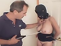 Shocking Bound Pain Slut