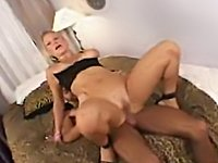 Busty Blonde Having Deep Anal Sex