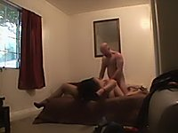 Young Slut Fucks Older Couple