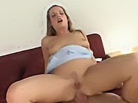 Hot Blonde Does Great Ass to Mouth