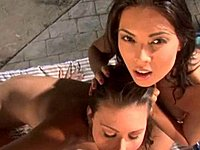 Tera Patrick and friend suck a cock