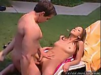 Peter North Outdoor Pussy-Eating