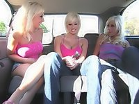 Three hot blondes