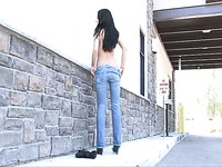 Tatiana nude in public