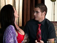 Raquel Devine mommy-got-boobs movie 42