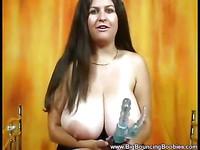 Heavy boobies