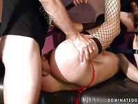 Barbie Pink dominated-girls clip 45