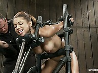 Angel Cummings device-bondage movie 6