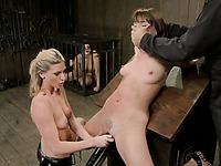 Ariel Carmine device-bondage clip 26