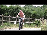 Kallum's Bike Ride Jerk Off
