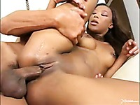 Ebony Gets Drilled