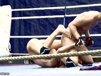 Aleksa Diamond nude-fight-club trailer 29