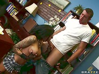 Sophia Lomeli big-tits-at-school video 19