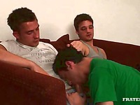 Crazy fun of college gay guys
