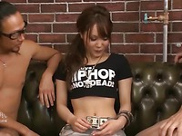 Japanese Chick Fucked and Creampied
