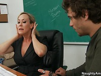 Sex with slut teacher Brandi Love