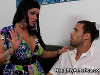 Busty latina sexpot Angelina Castro