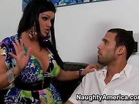 Busty latina sexpot Angelina Castro