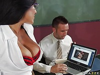 Kiara Mia Big Tits At School clip 4