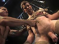 Master Nick Moretti and slave Dante